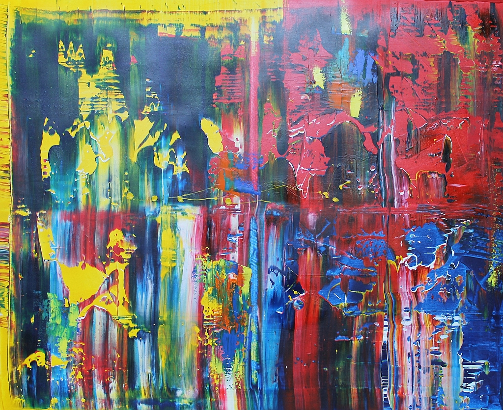 Abstract Colorful A2